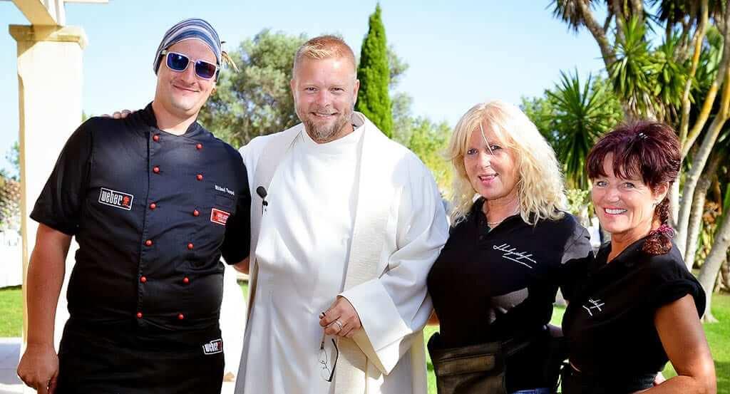 Team der Hochzeitsfinca Mallorca