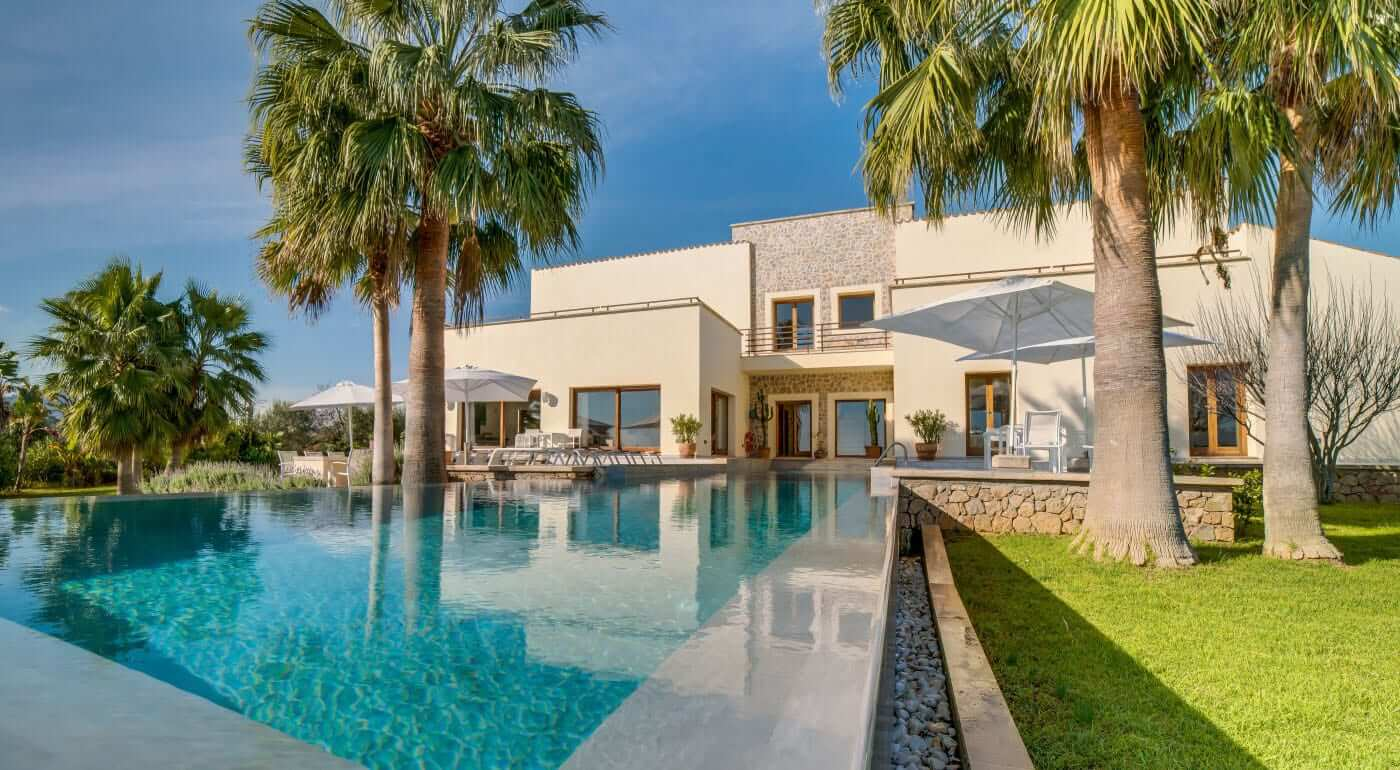 Fincagochzeit Mallorca mit Pool