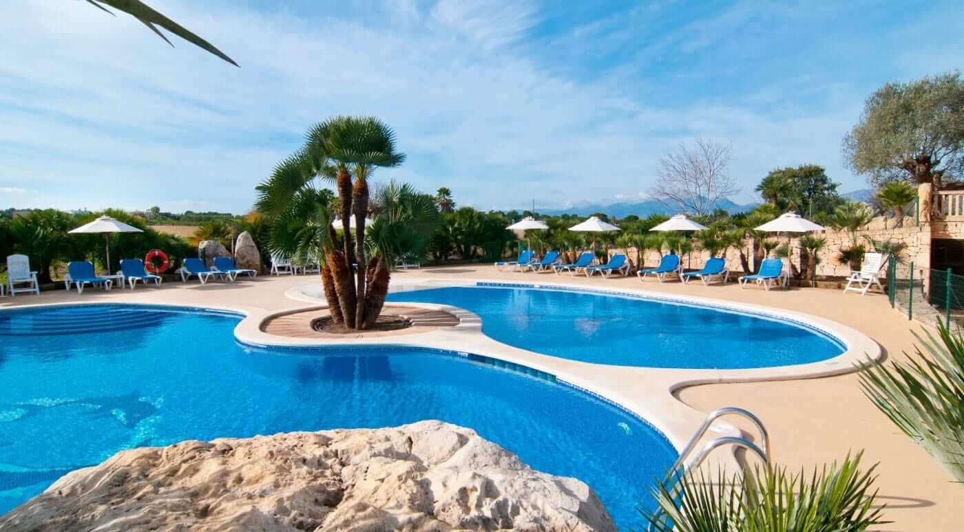 Hochzeits Finca mit Poollandschaft auf Mallorca