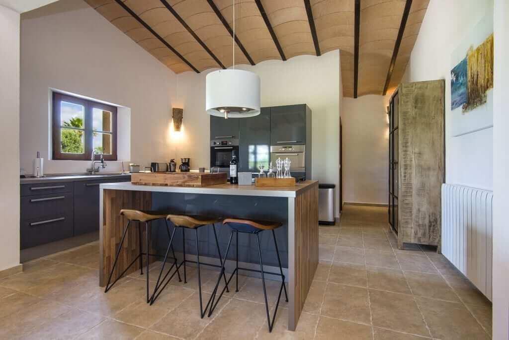 Hochzeit Finca Mallorca mit grßer Küche