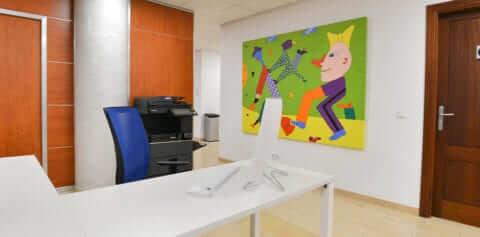Office Hochzeitsfinca Mallorca